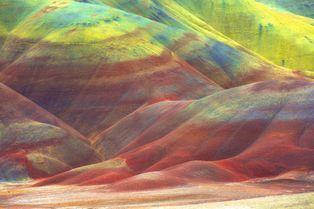 """Le """"désert peint"""" de l'Oregon"""