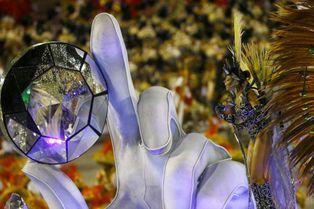 Le carnaval de Rio bat son plein