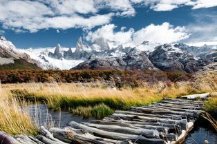 Les terres australes de Patagonie