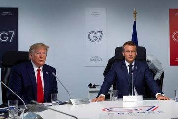 "Selon Trump, la France et les Etats-Unis ""approchent"" d'un accord sur la taxe Gafa"