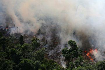 Les impressionnantes images des incendies dans la forêt amazonienne