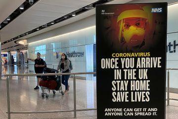Coronavirus : une quarantaine imposée au Royaume-Uni pour les voyageurs de l'étranger