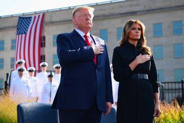Donald et Melania Trump rendent hommage aux victimes du 11-Septembre