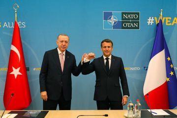 Emmanuel Macron a parle de Fabien Azoulay avec Recep Tayyip Erdogan