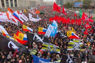 """En Russie, 20 000 manifestants pour la libération des """"prisonniers politiques"""""""