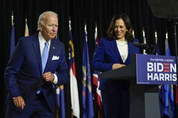 Joe Biden et Kamala Harris, armés pour le combat face à Trump
