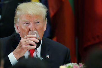 La contre-attaque de Donald Trump, il veut s'en prendre au vin français