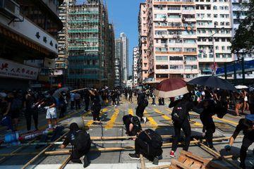 Le 70ème anniversaire de la Chine communiste sous haute sécurité à Hong Kong