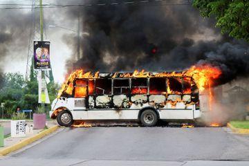 Mexique : Scènes de guerre en pleine ville après l'arrestation du fils d'El Chapo