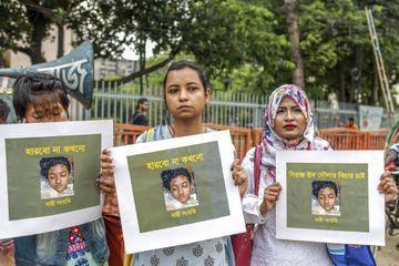 Seize condamnations à mort pour le meurtre d'une jeune femme au Bangladesh