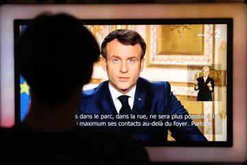 35,3 millions de téléspectateurs ont suivi le discours d'Emmanuel Macron lundi soir