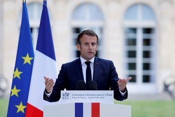 """Emmanuel Macron à la convention pour le climat : """"Il faut reporter le débat sur les 110 km/h"""""""