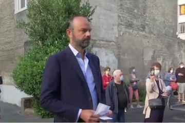 Edouard Philippe a voté au Havre