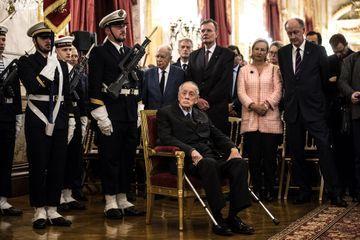 L'Assemblée nationale rend hommage à l'amiral Philippe de Gaulle, fils du général