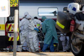 Coronavirus : un TGV médicalisé parti de Strasbourg est arrivé à Bordeaux
