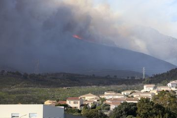 Coup de vent et incendies sur la Corse après le passage de la tempête Ciara