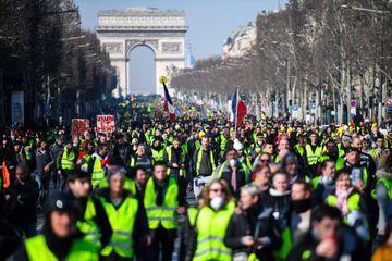 """""""Gilets jaunes"""" : un samedi à hauts risques, notamment à Paris"""