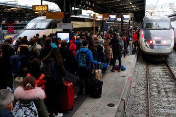 La SNCF annonce 6 TGV sur 10 en circulation le week-end du 27 au 29 décembre