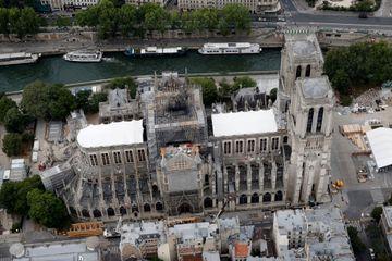 """Notre-Dame: """"pas un seul salarié contaminé"""" au plomb"""