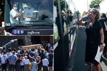 """""""Plus jamais ça"""", l'adieu à Philippe Monguillot, chauffeur de bus battu à mort"""