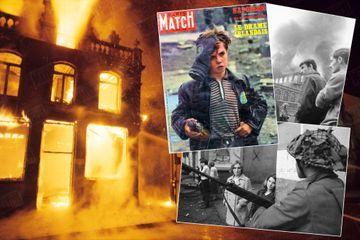 Dans les archives de Match - 1969, l'Irlande du Nord prend feu