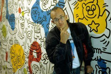 Dans les archives de Match - Keith Haring en 1989 : Faire quelque chose de simple est souvent difficile
