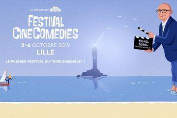 Amoureux du rire au cinéma, ne ratez pas la deuxième édition du Festival CineComedies à Lille