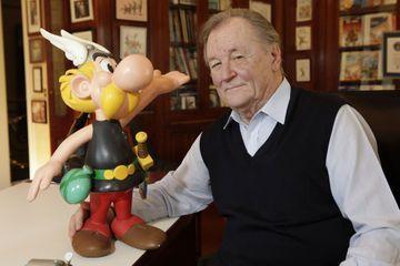 Albert Uderzo, le papa d'Asterix, s'est éteint