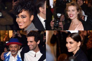 Défilé de stars pour le dernier défilé haute couture de Jean Paul Gaultier
