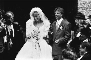 Dans les archives de Match - Il y a 30 ans, le mariage d'Estelle et David Hallyday