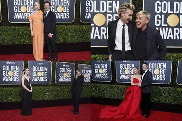 Golden Globes 2020 : les couples stars du tapis rouge