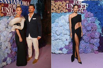 Katy Perry et Orlando Bloom, fiancés chics à Capri avec Tina Kunakey