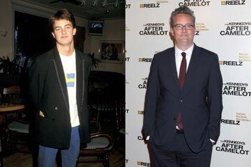 L'évolution de Matthew Perry au fil des années