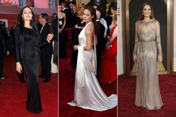 Les looks d'Angelina Jolie aux Oscars