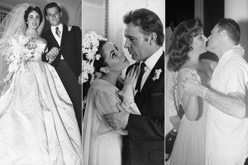 Les mariages d'Elizabeth Taylor