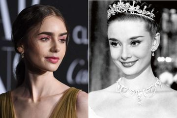 Lily Collins future Audrey Hepburn?