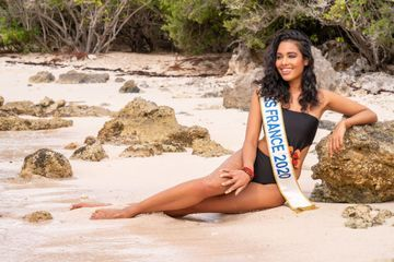 Miss France Clémence Botino, sublime en Guadeloupe