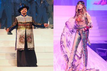 Paris Jackson et Boy George enflamment le défilé Jean Paul Gaultier