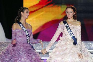Quand Delphine Wespiser était élue Miss France 2012