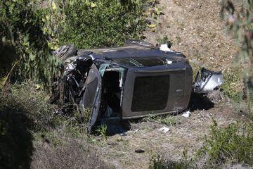 Tiger Woods, les photos de l'accident
