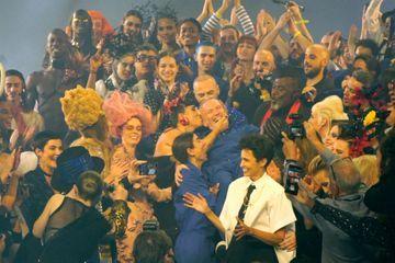 Dans les coulisses du dernier défilé de Jean Paul Gaultier