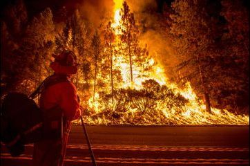 """""""King Fire"""", dans l'enfer des flammes"""