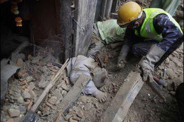 Le Népal ravagé par le séisme