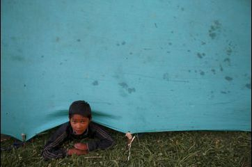 Népal. La vie sous les tentes
