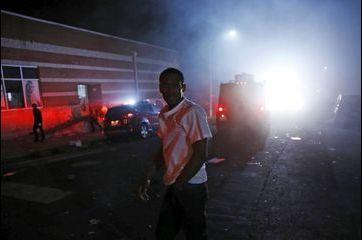 Nuit de tensions à Baltimore