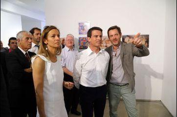 Escapade culturelle pour Manuel Valls et Anne Gravoin