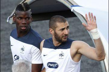 Benzema et Pogba en lice pour le Ballon d'or