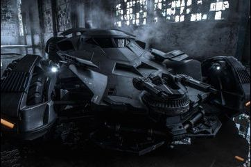 La Batmobile dans les rues de Detroit