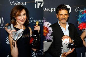 Les stars à l'honneur aux Globes de Cristal 2015