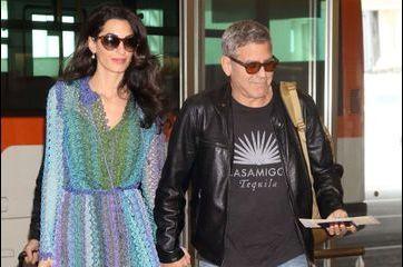 Amal et George Clooney sont arrivés au Japon